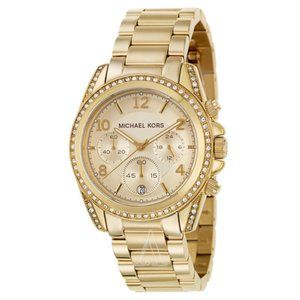 Authentic MICHAEL KORS Gold Blair Glitz Watch